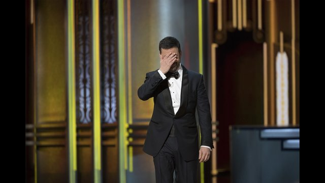The moment Jimmy Kimmel knew something was wrong at the Oscars