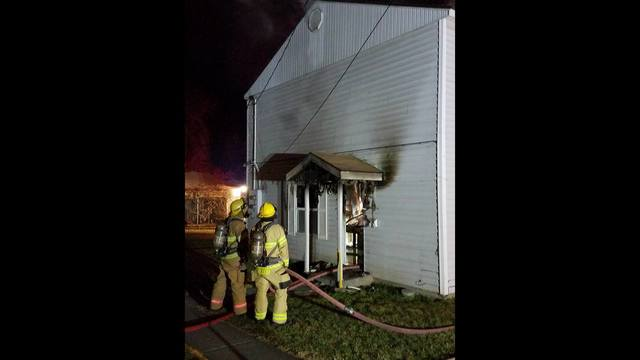 Crews investigating early morning fire