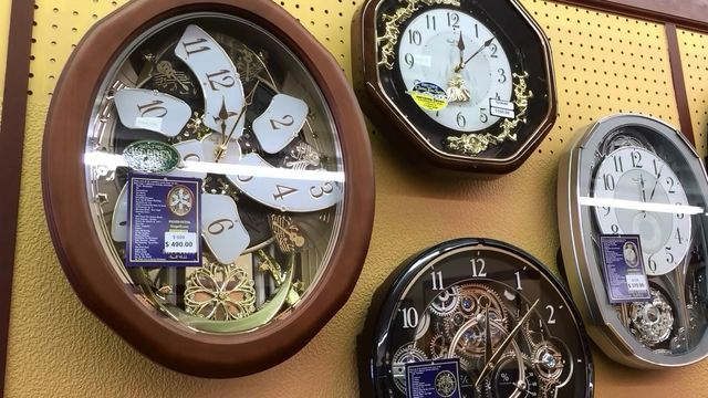 Local shop adjusts 300+ clocks for daylight saving time