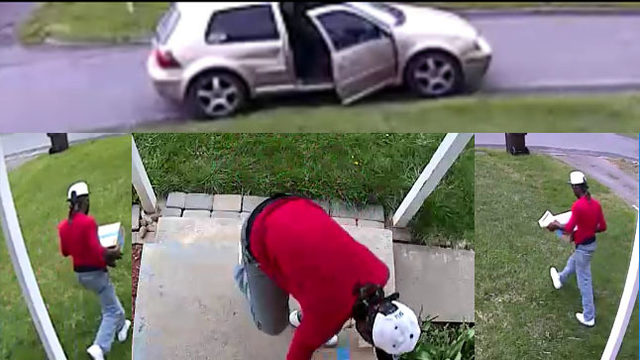 Yakima package theft caught on camera