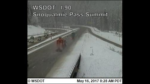 Traction tires advised for travelers
