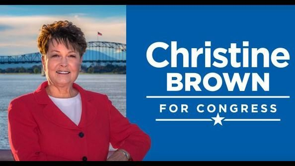 Former local broadcaster, Christine Brown, running for 4th Congressional District seat